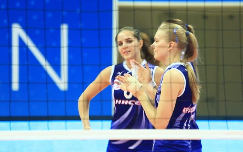 Волейбольный клуб Динамо обыграл Енисей со счетом 3:0