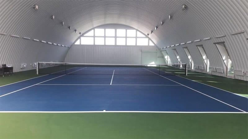 Крытые корты для большого тенниса