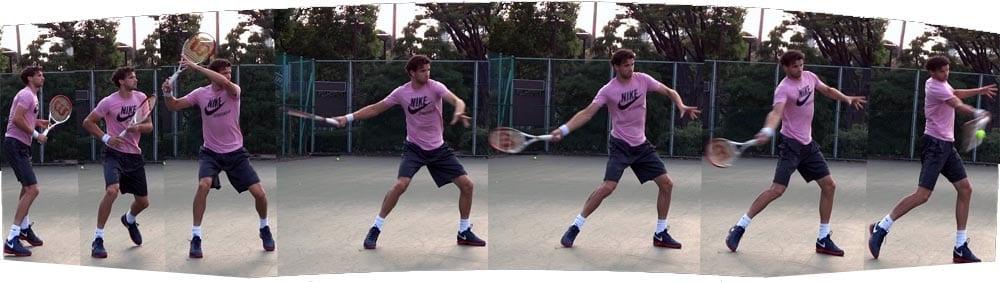 Какие подачи и удары в большом теннисе существуют