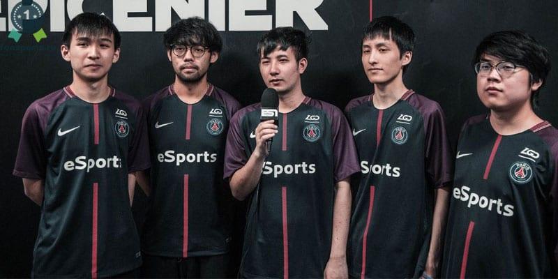 Команда «PSG-LGD» в Дота 2