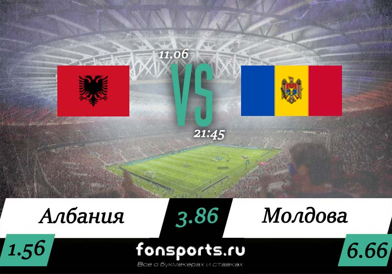 Албания – Молдавия прогноз и статистика, 11 июня 2019