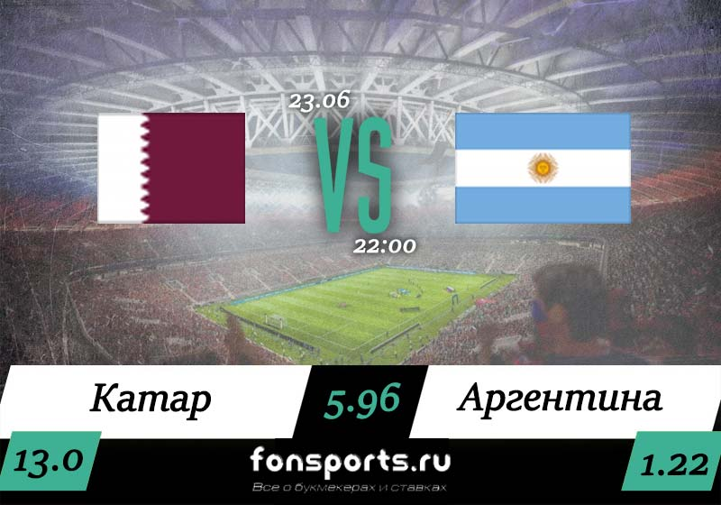 Катар – Аргентина прогноз и обзор матча, 23 июня 2019