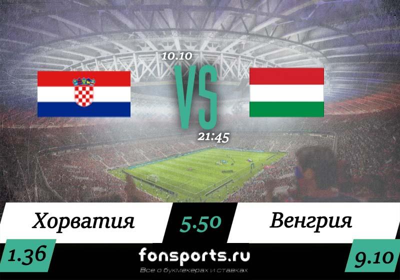 Хорватия – Венгрия. Прогноз и обзор матча (10.10.2019)
