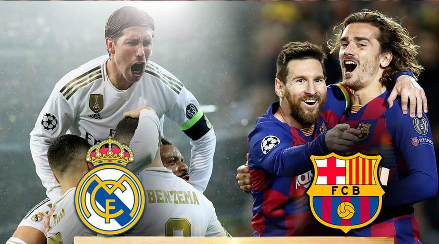 Кто станет чемпионом Испании по футболу: «Барселона» или «Реал Мадрид»?