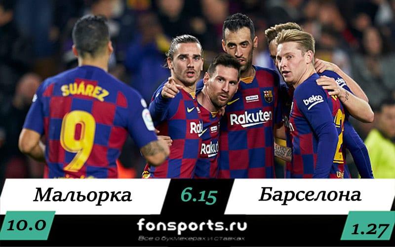 Мальорка – Барселона (13 июня) прогноз на чемпионат Испании
