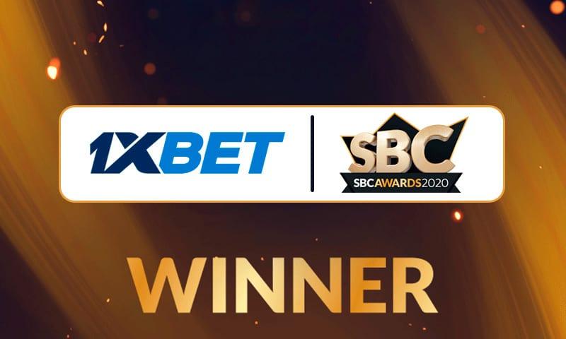 БК 1xBet стала победителем SBC Awards 2020