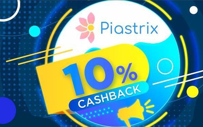 Кешбэк за депозит: 1хBet возвращает 10% с каждого пополнения через Piastrix