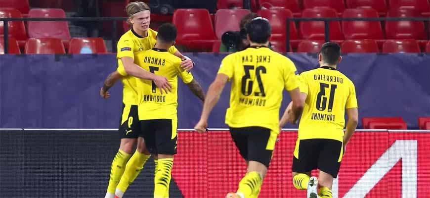«Боруссия Дортмунд» - «Севилья» прогноз на сегодня, 9 марта 2021 года