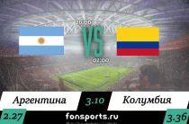 Аргентина – Колумбия прогноз и статистика (16 июня 2019)
