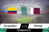 Колумбия – Катар обзор матча, 20 июня 2019