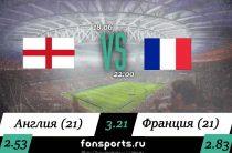 Англия (21) – Франция (21) прогноз и статистика, 18 июня 2019