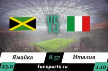 Ямайка (Ж) – Италия (Ж) прогноз и статистика (14 июня 2019)