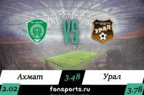 Ахмат – Урал прогноз на 8 ноября 2019