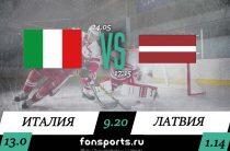 Италия – Латвия прогноз и статистика (14 мая 2019)