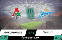 Локомотив – Зенит (28 сентября 2019): прогноз и статистика