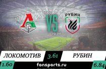 Локомотив – Рубин. Прогноз и статистика (10.05.2019)