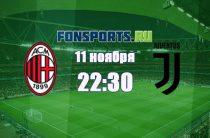 Милан – Ювентус (11 ноября 2018): прогноз на матч и коэффициенты