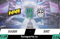 NaVi — BIG прогноз на Контр Страйк (22 мая 2019)