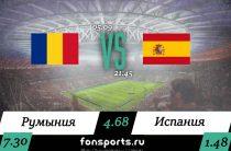 Румыния – Испания прогноз и статистика, 05.09.2019