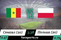 Сенегал (20) – Польша (20) прогноз и статистика 29 мая 2019