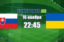 Словакия – Украина (16 ноября 2018): прогноз на матч и коэффициенты