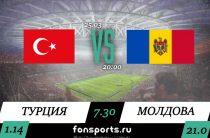 Турция — Молдова. Прогноз и обзор матча (25 марта 2019)