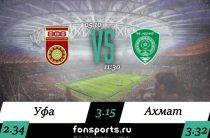 Уфа – Ахмат: прогнозы на РПЛ (05.10.2019)