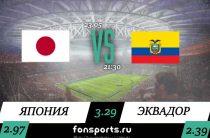 Япония U 20 – Эквадор U 20 прогноз и статистика (23 мая 2019)