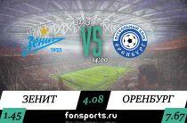 Прогноз на матч Зенит – Оренбург: сможет ли Оренбург устоять против Зенита?